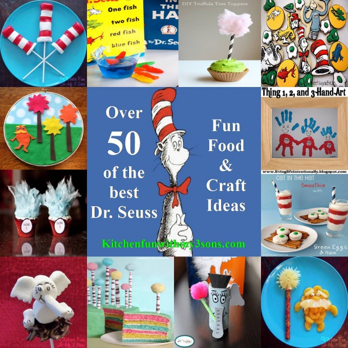 Over 50 Of The Best Dr Seuss Fun Food Craft Ideas Kitchen Fun