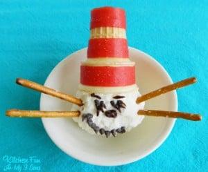 Dr. Seuss Cat in the Hat Ice Cream Treat