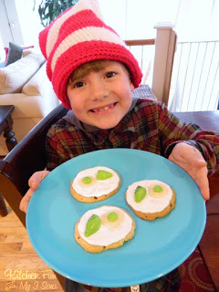 Dr. Seuss Green Eggs and Ham Cookies...Easy!