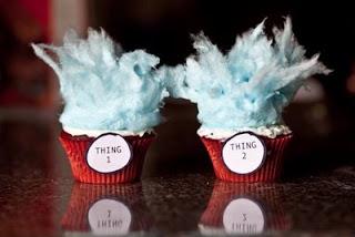 Thing 1 Thing 2 Cupcakes