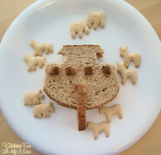 Noahs ark lunch kitchen fun with my 3 sons i was going through our pictures today and came across this noahs ark lunch that we made a few years ago i noticed lots of fun food that we havent shared forumfinder Image collections