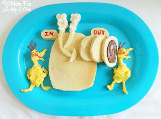 Star Belly Sneetch Pancakes