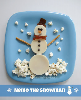 Snowman Snack/Lunch