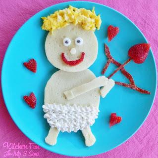 Valentine Cupid Pancake Breakfast