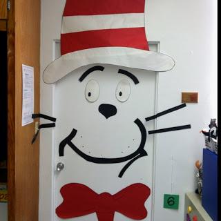 Cat in the Hat Door Decoration