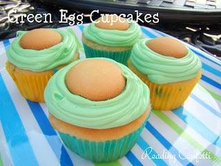 Green Eggs Dr. Seuss Cupcakes