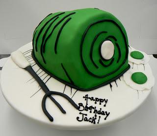 Green Eggs & Ham Cake