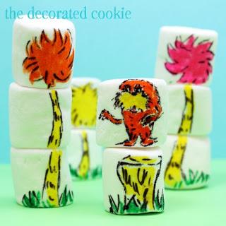 Dr, Seuss Marshmallows