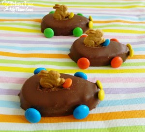 Easter Bunny Reese's Egg Cars