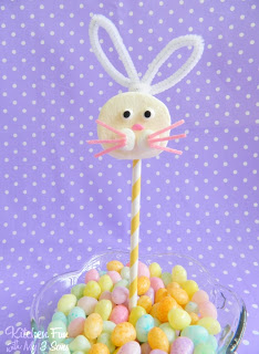 Easy Easter Bunny Marshmallow Pops