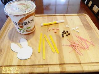 Chobani Yogurt and Sticks