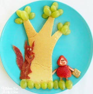Little Red Riding Hood Breakfast