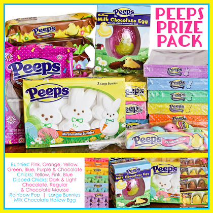 Peeps Prize Pack filled with a peep load of Peeps