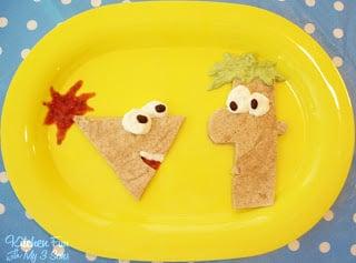 Phineas & Ferb Quesadillas