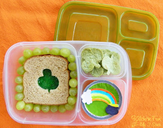 St. Patrick's Day Bento Lunch