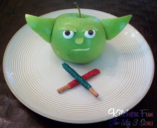 Yoda Fruit Snack
