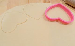 Heart Cookie Cutter Cutting Pie Crust