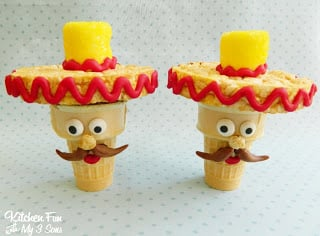 Cinco De Mayo Cupcake Cones Kitchen Fun With My 3 Sons