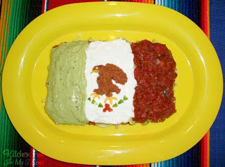 Cinco de Mayo 7 Layer Flag Dip