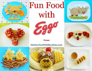 7 fun food creations for Eggo
