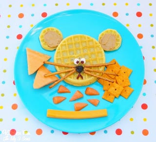 Eggo PB&J Mouse Lunch