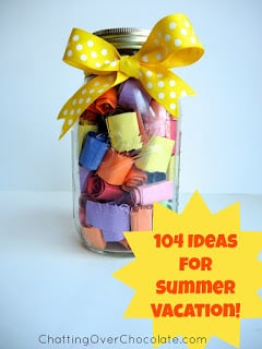104 Days of Play for Summer Vacation