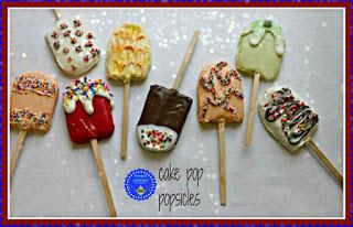 Popsicle Cake Pops