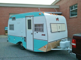 vintage Scotty Camper