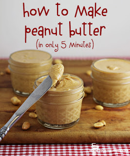 Peanut Butter in Only 5 Minutes