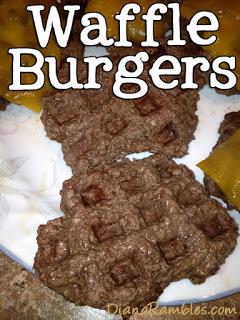Waffle Burgers
