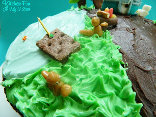 Candy Used To Make The Camping Cake