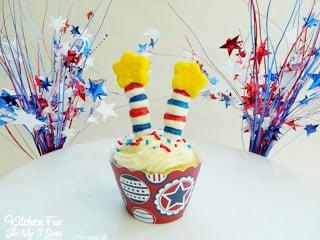 Firecracker Cupcake
