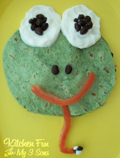 Frog Quesadilla Dinner