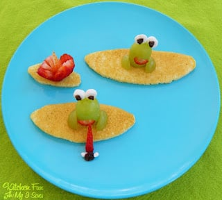 Froggy lily pad pancake breakfast kitchen fun with my 3 sons for Lilly s craft kitchen