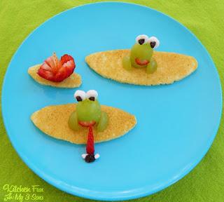 Froggy Lily Pad Pancake Breakfast