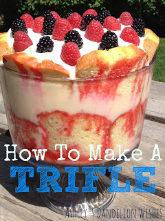 how to make a Triffle