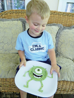 Monsters Inc. Mike Wazowski Quesadilla Dinner