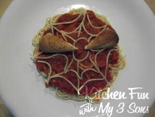 Spiderman Spaghetti