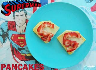 Easy Superman Pancakes