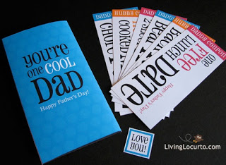 Father's Day Coupon Cards