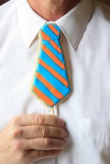Neck Tie Cookies