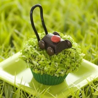 Lawn Mower Cupcakes