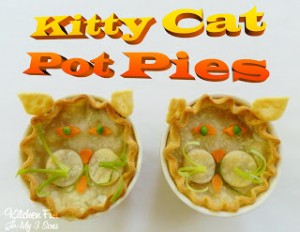Kitty Cat Pot Pies