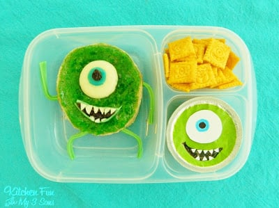 Monsters, Inc Mike Wazowski Bento Lunch