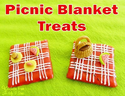 Picnic Blanket Treats for a Summer Picnic Party