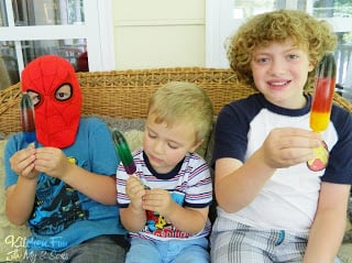Popsicle Marvel Heroes with free Printable
