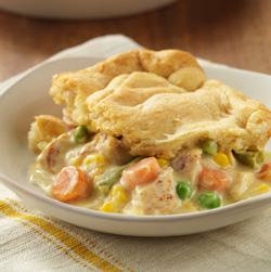 Home Style Chicken Pot Pie