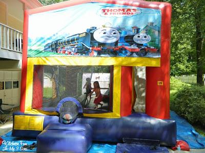 Train Bouncy House