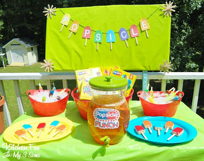 Popsicle Party with Free Printables!