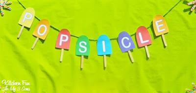 Popsicle Banner
